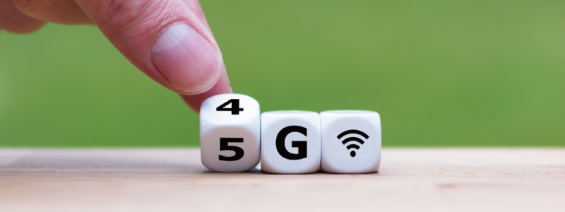 5G,4G,エリア